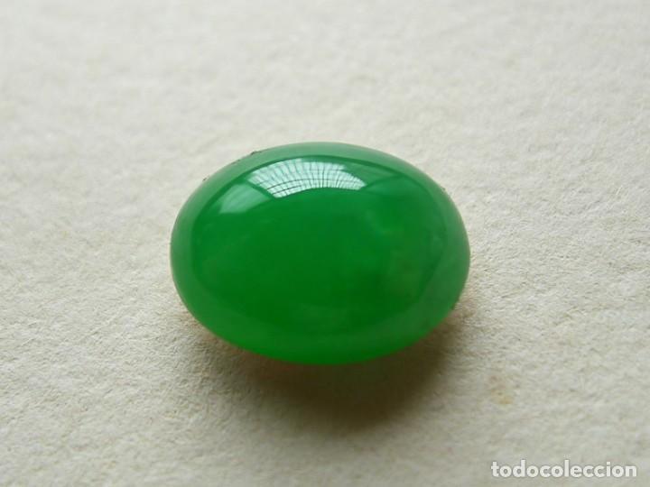 Coleccionismo de gemas: CABUJÓN EN JADE JADEITA. REF 317 - Foto 3 - 195522628