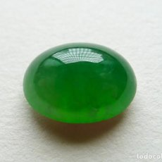 Coleccionismo de gemas: CABUJÓN EN JADE JADEITA. REF 319. Lote 195522926