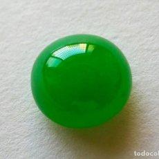 Coleccionismo de gemas: CABUJÓN EN JADE JADEITA. REF 321. Lote 195523142