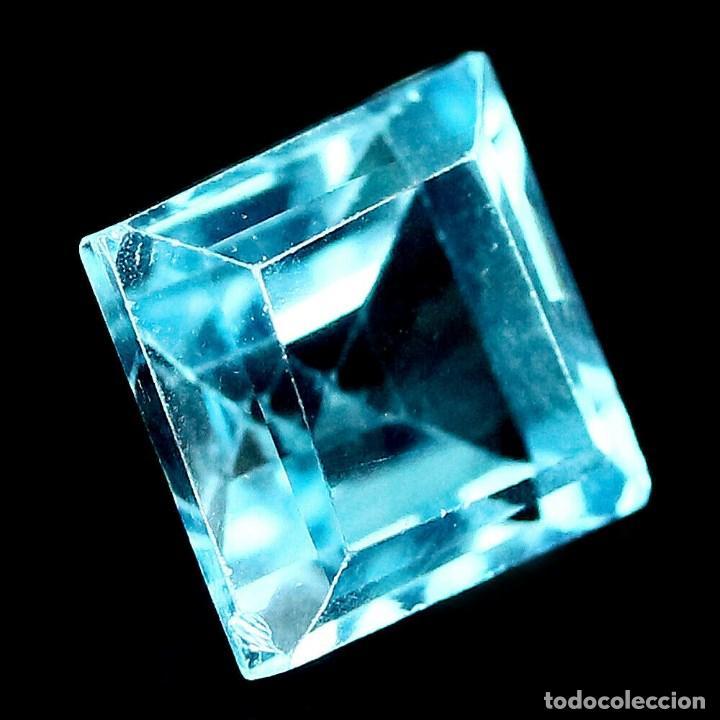 Coleccionismo de gemas: TOPACIO Azul Suizo 7,0 x 7,0 mm. - Foto 2 - 195980498