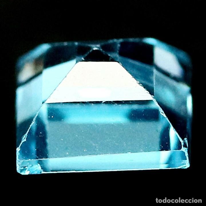 Coleccionismo de gemas: TOPACIO Azul Suizo 7,0 x 7,0 mm. - Foto 3 - 195980498
