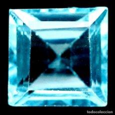 Coleccionismo de gemas: TOPACIO AZUL SUIZO 7,0 X 7,0 MM.. Lote 195980498
