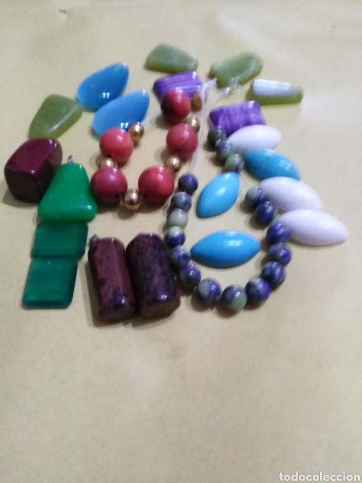 Coleccionismo de gemas: Lote de 24 colgantes y piedras naturales - Foto 3 - 195990357
