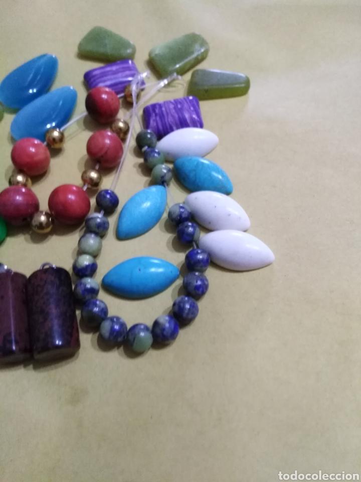 Coleccionismo de gemas: Lote de 24 colgantes y piedras naturales - Foto 4 - 195990357
