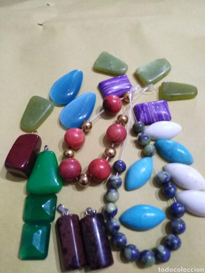 Coleccionismo de gemas: Lote de 24 colgantes y piedras naturales - Foto 5 - 195990357