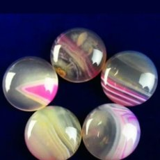 Collezionismo di gemme: MIX DE 5 ONYX ÁGATA NATURALES. Lote 197480628