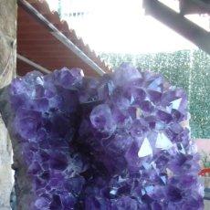 Coleccionismo de gemas: DRUSA DE AMATISTA. Lote 198543036