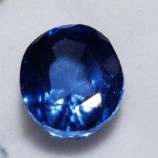 Collezionismo di gemme: NATURAL TANZANITA AZUL CERTIFICADA DE 8 QUILATES. VALOR APROX 700 €. Lote 198598778