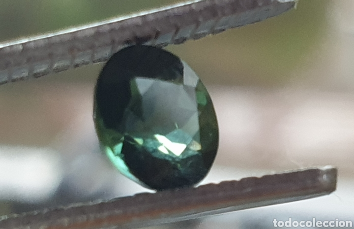 Coleccionismo de gemas: Tourmaline verde natural - Foto 3 - 198934957