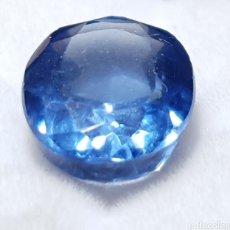 Coleccionismo de gemas: NATURAL TANZANITA AZUL CERTIFICADA DE 6.80 QUILATES, VALOR APROX 500€. Lote 198971891