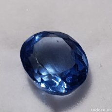Coleccionismo de gemas: NATURAL TANZANITA AZUL CERTIFICADA DE 5.95 QUILATES. VALOR +400€. Lote 199126573