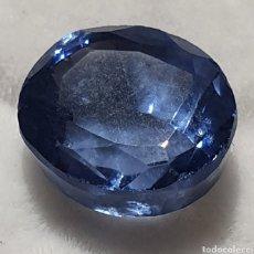 Coleccionismo de gemas: EXCELENTE TANZANITA NATURAL CERTIFICADA DE 7.20 QUILATES VALOR APROXIMADO 520 EUROS. Lote 199356710