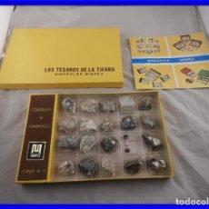 Coleccionismo de gemas: COLECCION DE MINERALES MINPEX LOS TESOROS DE LA TIERRA. Lote 200895936