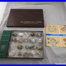 Coleccionismo de gemas: COLECCION DE MINERALES MINPEX LOS TESOROS DE LA TIERRA. Lote 200896097
