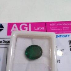 Coleccionismo de gemas: DIOPSIDE CHROME NATURAL 100% DE 8,65CTS.. Lote 202375511