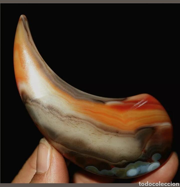 Coleccionismo de gemas: Enorme Ágata natural de 415 Cts. - Foto 3 - 202377436