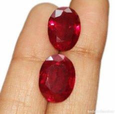 Coleccionismo de gemas: RUBI OVAL 6,0 X 4,0 MM.. Lote 202557588