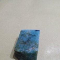 Coleccionismo de gemas: AMAZONITAS NATURAL EN BRUTO DE 63,02 CTS.. Lote 202600011