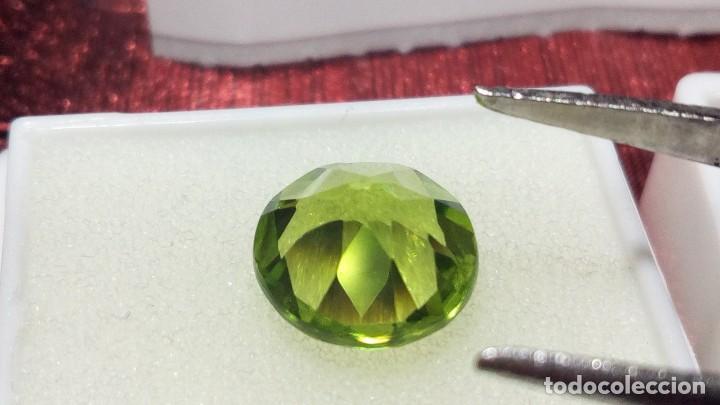 Coleccionismo de gemas: PERIDOTO VS REDONDO PAKISTÁN 2.51 CT. - Foto 4 - 203204435