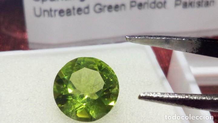 Coleccionismo de gemas: PERIDOTO VS REDONDO PAKISTÁN 2.51 CT. - Foto 5 - 203204435