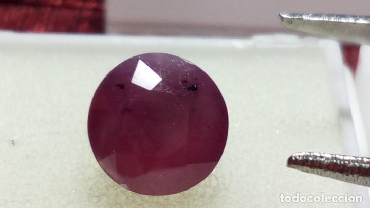Coleccionismo de gemas: RUBÍ TALLA REDONDA GUINEA 3.35 CT. - Foto 4 - 203204913