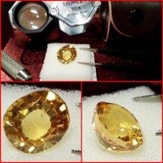 Coleccionismo de gemas: ZAFIRO PADPARADSCHA OVAL SKI-LANKA 5.55 CTS.. Lote 203457043