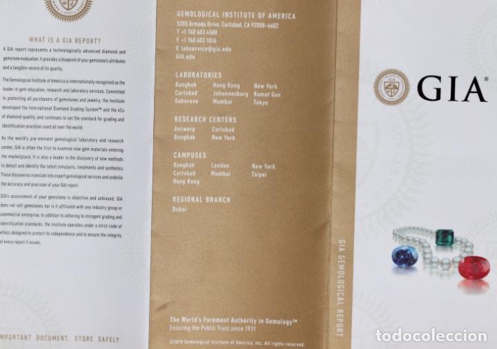 Coleccionismo de gemas: TURMALINA DE PARAIBA, CON GIA CERTIFICADO - Foto 25 - 119505179