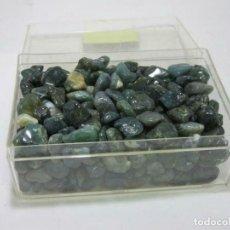 """Coleccionismo de gemas: GRAN PAQUETE DE PIEDRAS PRECIOSAS """"MOSS ÁGATA CRISTAL CURATIVO"""" (PESO APROX. 433.0 G. SH.). Lote 205703161"""