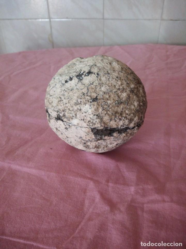 MARAVILLOSA BOLA DE CUARZO NEGRO NATURAL. (Coleccionismo - Mineralogía - Gemas)