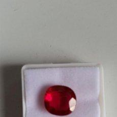 Coleccionismo de gemas: RUBELITA (TURMALINA) ROSA CON TALLA COJÍN NATURAL DE MOZAMBIQUE CON 7.00 CT. CERTIFICADA AGI. Lote 210197768