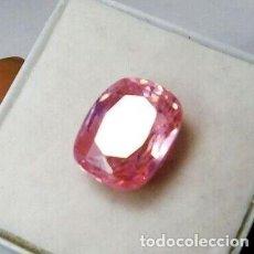 Coleccionismo de gemas: ESPODUMENA ROSA (KUNCITA) SIN TRATAR. NATURAL DE BRASIL. TALLA OVAL. CON 10.05 CT.. Lote 210431011