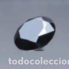 Coleccionismo de gemas: DURÍSIMA MOISSANITA REAL INDIA NEGRA CON TALLA REDONDA DE 2 CT. (9.0 MM).. Lote 212726676
