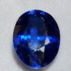 Collectionnisme de gemmes: EXCEPCIONAL TANZANITA NATURAL DE 9.37 QUILATES VALORADO EN MÁS DE 600 EUROS. Lote 213473310