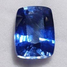 Coleccionismo de gemas: EXCEPCIONAL ZAFIRO NATURAL DE 8.81 QUILATES VALORADO EN MÁS DE 850 EUROS.. Lote 213477948