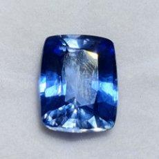 Coleccionismo de gemas: EXCEPCIONAL ZAFIRO NATURAL DE 8.12 QUILATES VALORADO EN MÁS DE 800 EUROS. Lote 213480165