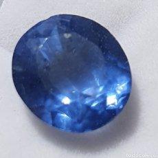 Collectionnisme de gemmes: EXCEPCIONAL TANZANITA NATURAL DE 6.45 QUILATES VALORADO EN MÁS DE 550 EUROS. Lote 213483738