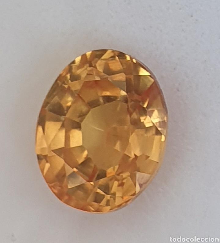 EXCEPCIONAL ZAFIRO NATURAL DE 3.00 QUILATES VALORADO EN MÁS DE 600 EUROS (Coleccionismo - Mineralogía - Gemas)