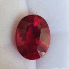 Coleccionismo de gemas: EXCEPCIONAL RUBY ENORME NATURAL DE 10.58 QUILATES VALORADO EN MÁS DE 1300 EUROS. Lote 213761051