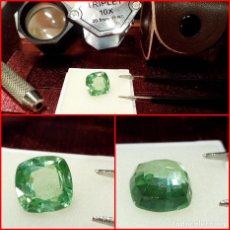 Coleccionismo de gemas: TURMALINA PARAIBA BRASIL VERDE 4.40 CTS. Lote 214329870