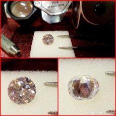Coleccionismo de gemas: ZIRCONIA CÚBICA SWAROVSKY 7MM CORTE BRILLANTE. Lote 214331918