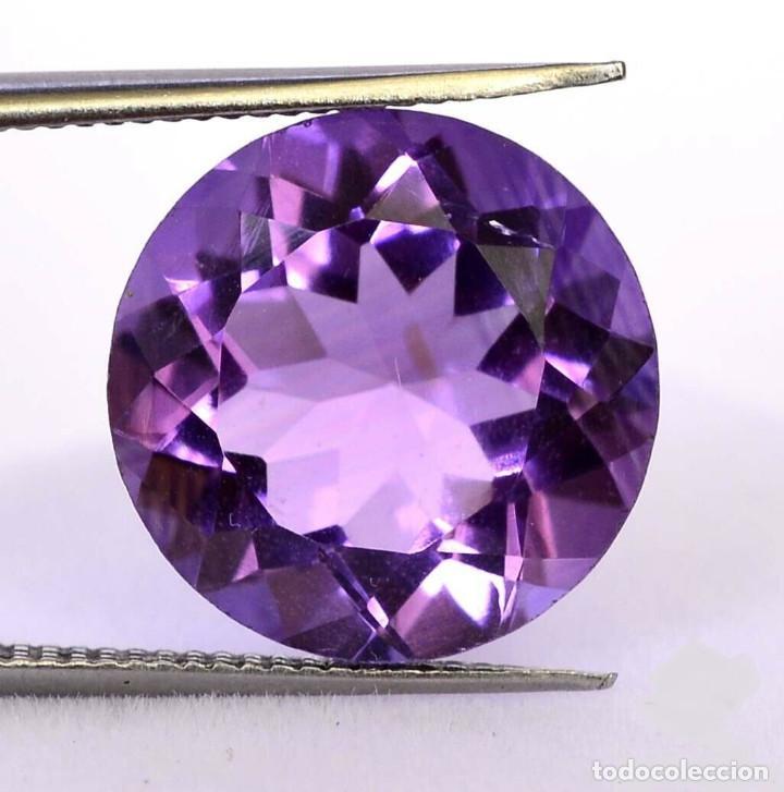 Coleccionismo de gemas: Bonita amatista de 7,5 mm y 1,50 cts - Foto 2 - 216454291
