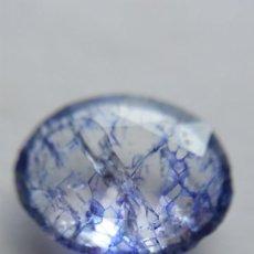 Coleccionismo de gemas: PRECIOSA TANZANITA PANNA NATURAL DE TANZANIA TALLA OVAL CON 7.00 CT.. Lote 216787886