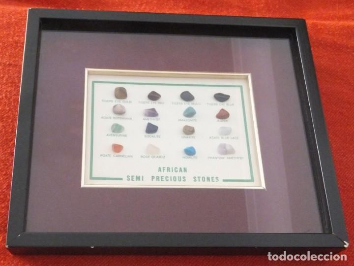 AFRICA - PIEDRAS SEMIPRECIOSAS (Coleccionismo - Mineralogía - Gemas)