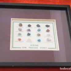 Coleccionismo de gemas: AFRICA - PIEDRAS SEMIPRECIOSAS. Lote 217909822