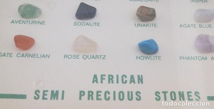 Coleccionismo de gemas: AFRICA - PIEDRAS SEMIPRECIOSAS - Foto 3 - 217909822