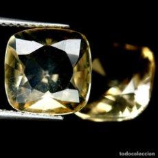 Coleccionismo de gemas: CITRINO NATURAL 10 X 10 MM.. Lote 217919607