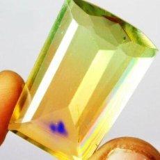 Coleccionismo de gemas: PRECIOSA TURMALINA HYDRO DOUBLET CORTE FANCY CON 37 CT.. Lote 218023278