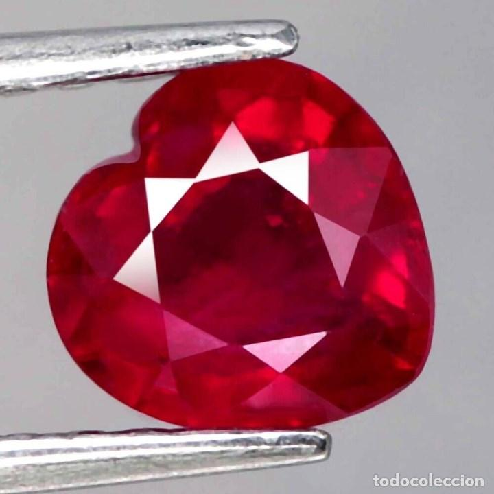 Coleccionismo de gemas: Rubi Corazon 10,0 x 9,7 mm. - Foto 2 - 218500972
