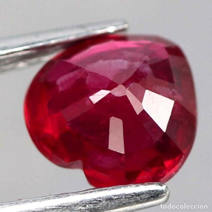 Coleccionismo de gemas: Rubi Corazon 10,0 x 9,7 mm. - Foto 3 - 218500972