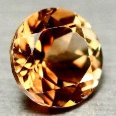 Coleccionismo de gemas: TOPACIO CHAMPAN REDONDO 9,3 MM. Lote 218502065